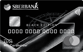 БПС Сбербанк - ComPass Black Edition MasterCard World Black Edition